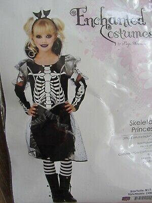 Mädchen Kostüm Gr. M 7-10 Skeleton Princess Skelett Leg Avenue -