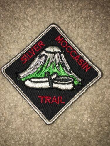 Boy Scout BSA Silver Moccasin Ohio Diamond Shape Mountain Type 1 Trail Patch
