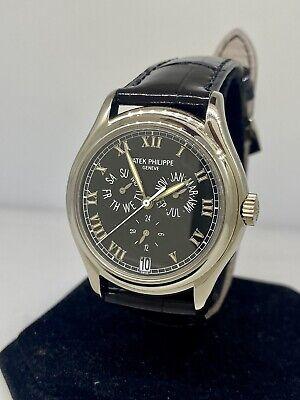 Patek Philippe Annual Calendar Black Dial Automatic Men's Watch 5035G