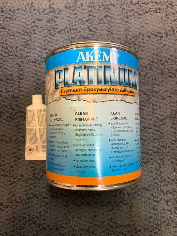 Akemi PLATINUM Premium Epoxyacrylate Adhesive 1000g/900ml Brand New
