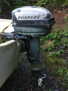 Vintage Evinrude 15 HP - 2 stroke