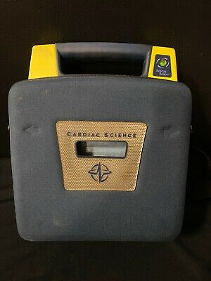 Cardiac Science Powerheart G3 Aed With New Batterynew Pads Carry Case Warranty