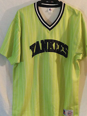 New York Yankees jersey-MLB Russell Athletic Bronx Bomber FASHION-XXL-Home Run!