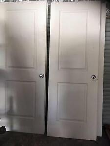Corinthian Panel Doors- Internal (2x Doors) South Morang Whittlesea Area Preview