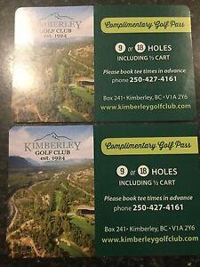 Golf Passes