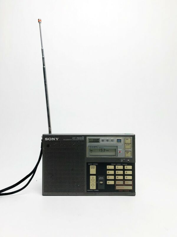 SONY ICF-7600D Multiband shortwave radio AM FM LW MW SW