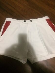 Booth shorts and embroidered skirt size large