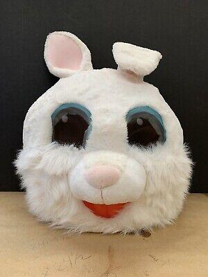 Rabbit Mascot Head (Easter Rabbit Bunny Plush Head Mask Mascot Costume Halloween Party cosplay)