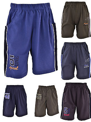 Jungen Kinder Shorts Bermuda 3/4 kurze Hose Sommer Jungs Knaben Sport Sporthose