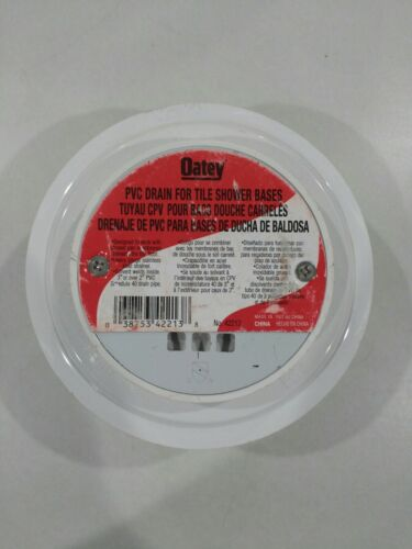Oatey 42213 2-Inch Low Profile Shower Drain With Bolt Down C