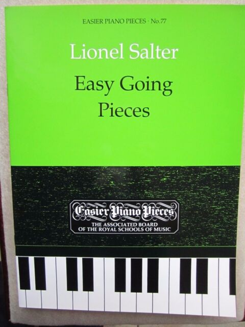 Easy Going Pieces for Piano by Lionel Salter *NEW*  ABRSM Easier Pieces No 77