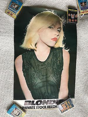 Blondie Private Stock Poster ORIGINAL Debbie Harry