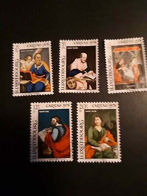 LUXEMBOURG 1978 Christmas Stamps set of 5 very good condition never hinged ()