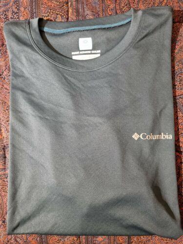 T Shirt Columbia Uomo Taglia L Sport Wear Blu Girocollo - 24,00€