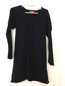 Size 5-6- Black knit dress