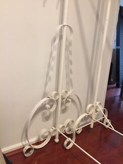 Hand made in melbourne clothes racks antique wardrobe look