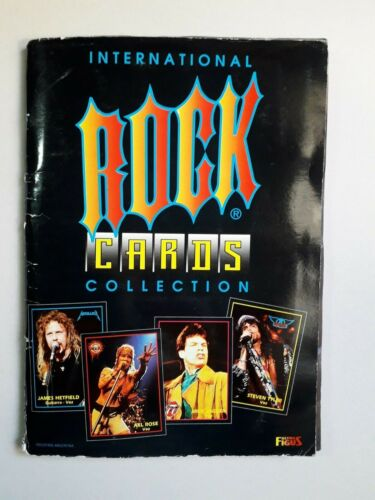 RARE! - INTERNATIONAL ROCK CARDS COLLECTION (COMPLETE) -  PRINTED IN ARGENTINA