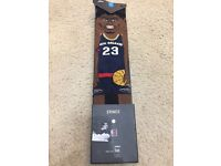 9-12 STANCE New Orleans Pelicans Socks Anthony Davis Brow NBA Men/'s Size Large