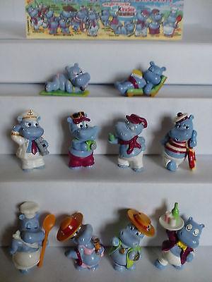 KPS - Figuren  Die Happy Hippos auf dem Traumschiff 1992   (D) + 1 BPZ (mit ZDF)