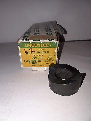 Greenlee 721-1 Slug Buster Punch 1 New
