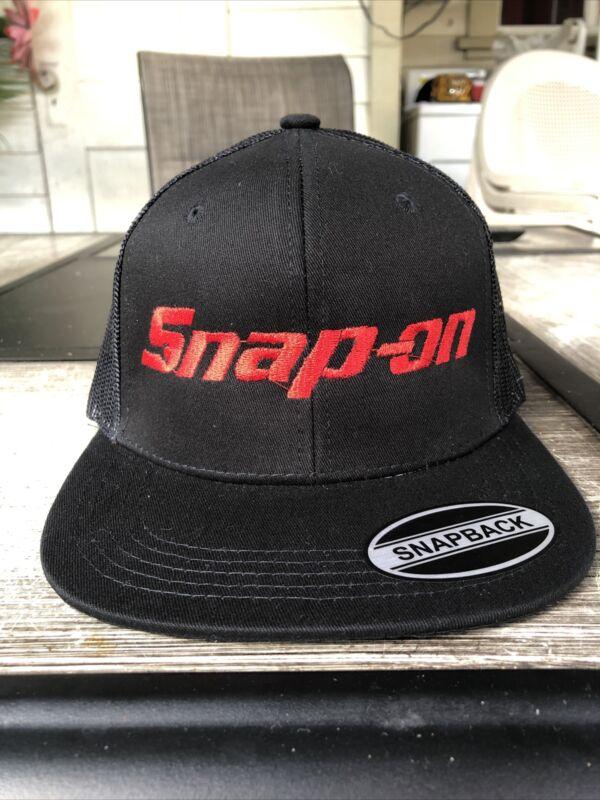Snap On Black Snapback