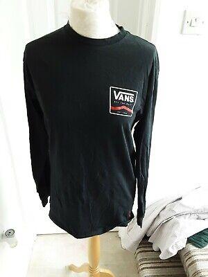 Vans Medium Long Sleeved Tshirt Mens