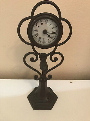 2003 decorator brass clock battery operated from Target