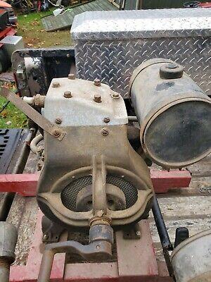Vintage Briggs Stratton Model A Stationary Engine