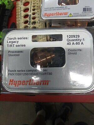 Hypertherm 120929 Shield Powermax 100012501650 40-80amps