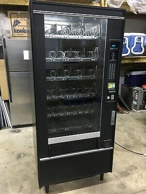 Crane National 158 Snack Vending Machine W Led 1s 5s Mdb 4wide
