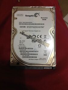 750gb laptop hard drive Thornton Maitland Area Preview