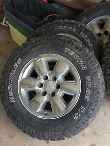 33 inch tires and rims gmc/chev