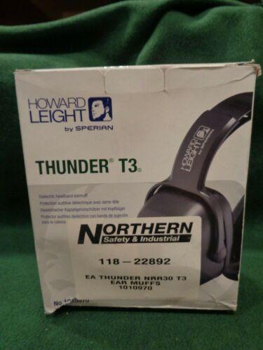 *Thunder T3*  Howard Leight By Honeywell   NRR 30 Dielectric Headband Earmuff