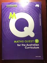 Maths Quest 9 homework book Augustine Heights Ipswich City Preview