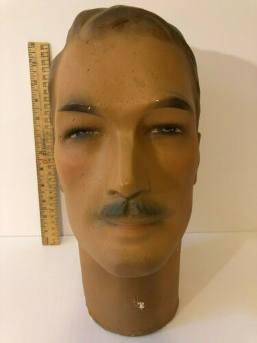 Male Mannequin Head
