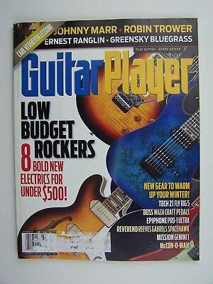 Guitar Player Magazine December 2014 - Low Budget Electrics