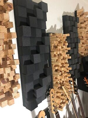 Foam Acoustic Sound Diffusion Absorption Panel