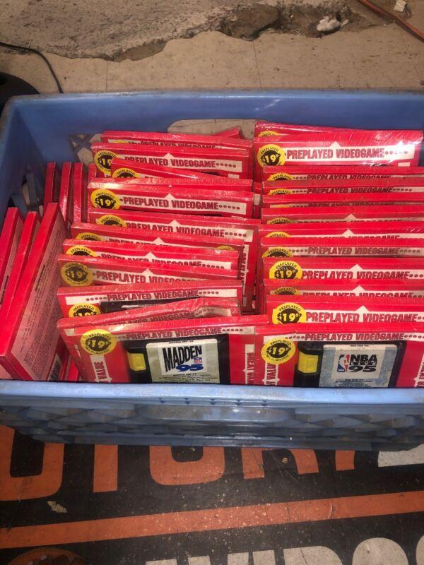 HUGE LOT of 69 Sega Genesis Cartridge Video Games