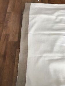 Custom made linen drapery with blackout