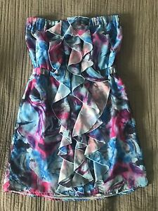 Strapless dress size 10 Aberglasslyn Maitland Area Preview