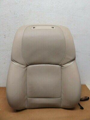 09-13 BMW F01 F02 F04 750i 750Li 740i FRONT RIGHT SEAT UPPER CUSHION BEIGE OEM