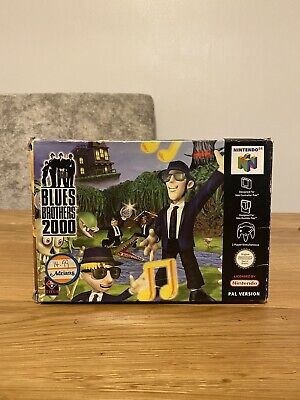 Nintendo 64N64 - Blues Brothers 2000 PAL Boxed and Complete HARD TO FIND