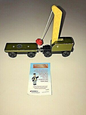 Thomas The Tank Engine Breakdown Train - Wooden Toy Train Car & Card - Magnetic!