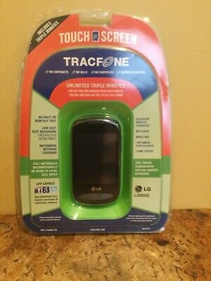 New Tracfone LG800G Basic Prepaid Cell Phone [Packaging Wear, Minor]