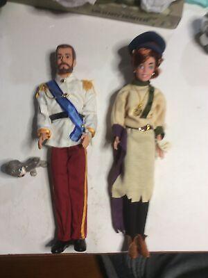 Original Anistatia Anya, Czar Nicholas, And Dog Doll Set. A24