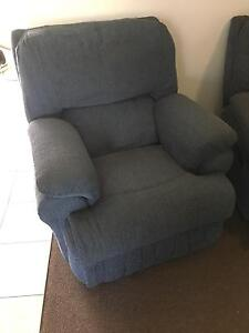 2 x blue recliners Wallsend Newcastle Area Preview