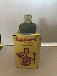 Eggbert. Decorative collectable ornament.