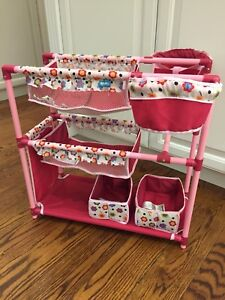 Twin doll play centre - bed - Hauck brand