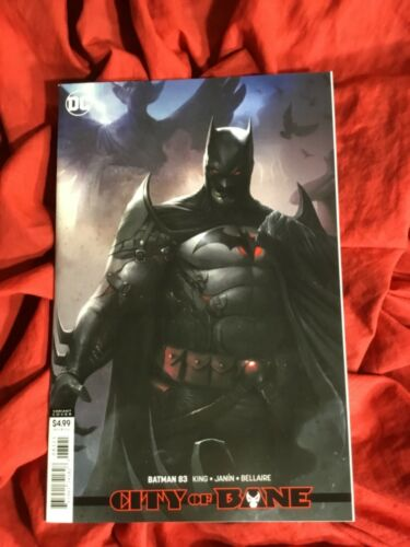 BATMAN #83~FRANCESCO MATTINA VARIANT COVER ART~TOM KING STORY~DC COMICS BOOK~