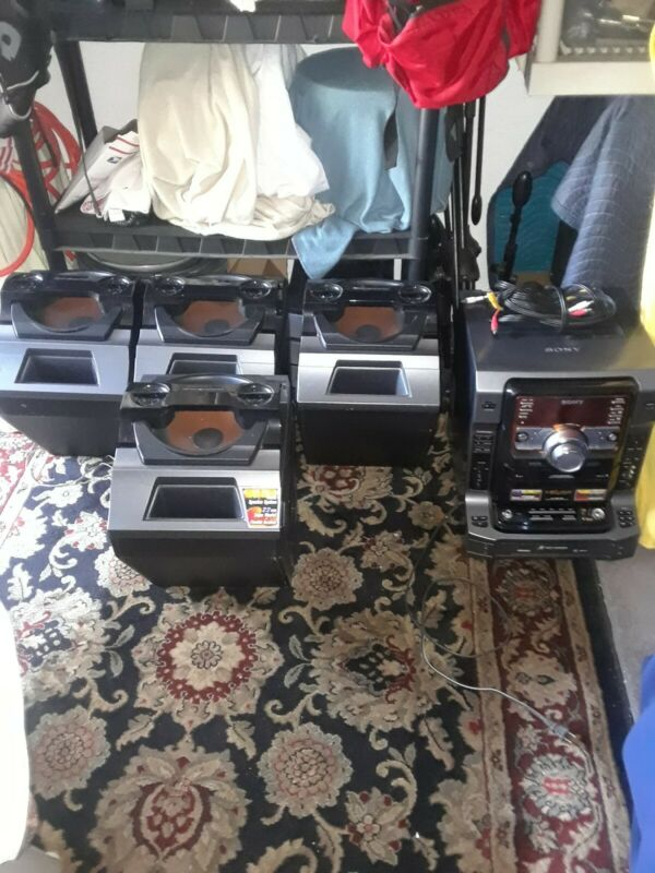 Sony LBT-ZX9 720Watts  Mini System  and Speakers ss zx9